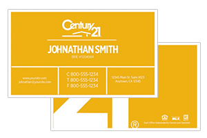 raltor business cards Century 21