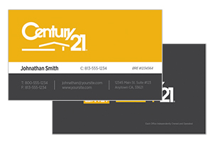 business cards for Century 21
