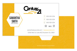 minimal pre designed realty business cards