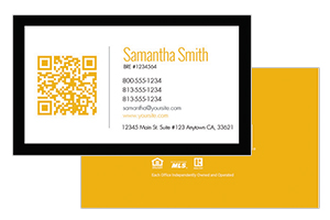 Century 21 simple realty business cards