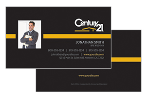 pre design business cards century 21